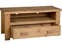 NEW Solid Block TV Cabinet £89