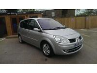 2008 RENAULT GRAND SCENIC 1.6 VVT ( 111bhp ) DYNAMIQUE S IN SILVER