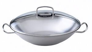 Fissler Pro Collection Wok et Couvercle / Induction ***NEUF***