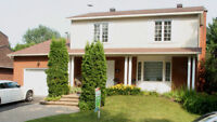 HOUSE FOR SALE OR FOR RENT SAINT-BRUNO-DE-MONTARVILLE