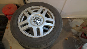 VW 5x100 Tires and Rims