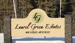 Emma Lake Lots in the Gated Community Laurel Green Estates