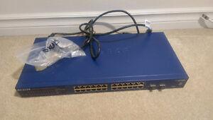 Netgear ProSafe GS724T v3 24 Ports Smart Switch