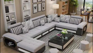 ***BRAND NEW 11 PIECES LUXURY MODERN SOFA SECTIONAL***