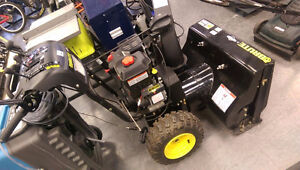 Brute By Briggs and Stratton Snow Blower Self Propelled