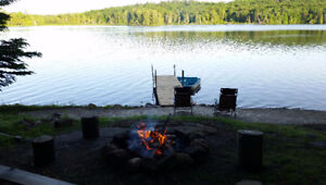 Family Friendly Sandy Beach, Lakefront Cottage Rental - Muskoka