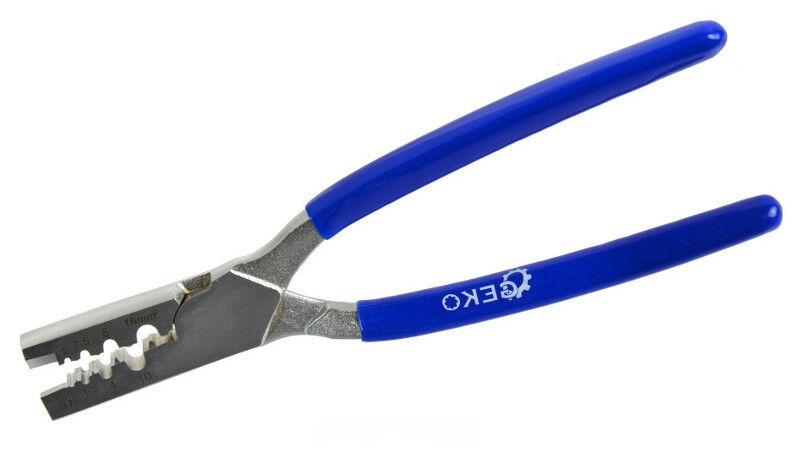 Aderendhülsenzange Crimpzange Kabelschuhzange 0,5 bis 16 mm² Adern Hülsen Zange
