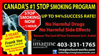 Stop Smoking In 1 Hour. Up to 94% Success Rate!