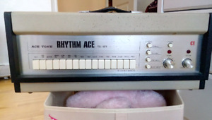 Drum machine vintage Rhythm Ace Acetone
