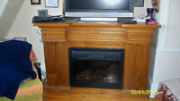 Kijiji Bordeaux Fireplace with integrated Wine Cooler