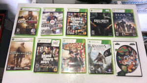 Assorted X-Box Games