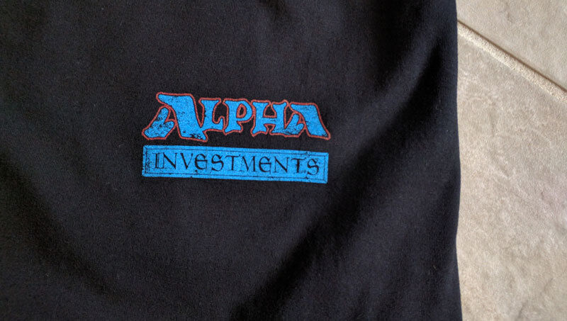 YouTube - Alpha Investments Branded T-Shirts Logo - Rudy The Magic Guy YouTube 3