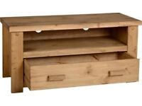 NEW Solid Block TV unit get it today only £89