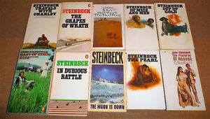 John Steinbeck - set of 10 inc. Grapes of Wrath