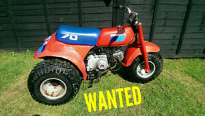 Looking for a Honda 70cc-125cc ATC ATV 3 wheeler project bike.