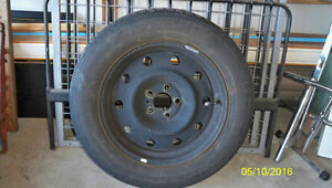 4 Rims with Tires P215/65R17