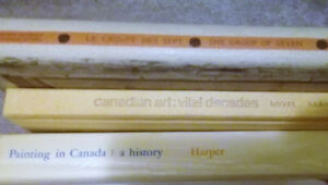 Set of Books on Canadian Art