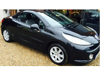 Peugeot 207 CC 1.6 120 Coupe Sport GUARANTEED FINANCE payment between £29-£58PW