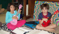 "UKULELE MUSIC LESSONS FOR KIDS . . . ""THE LITTLE GUITAR"""