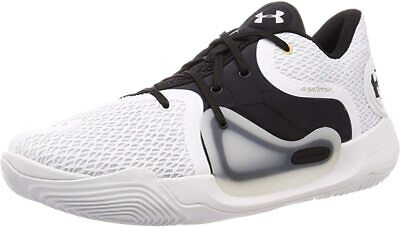 Under Armour Men's Spawn 2 Basketball Shoe, White/White, 9.5 D(M) US