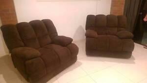 2 Big comfy recliners Mount Pleasant Mackay City Preview