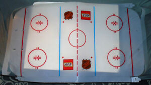 RARE Lego 65182 Slammer Stadium NHL Hockey Ice rink Surface Only