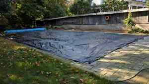 Pool Cover Tarp 25x44' London Ontario image 1