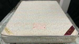 Excellent double-sided Pillow Top queen mattress#17 for sale. Pick up