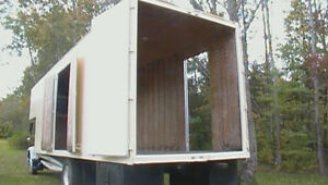 MOVING AND STORAGE BODY/ CONTAINER / HIGH CUBE