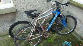 Saracen Mantra hardtail mountain bike NEEDS WORK