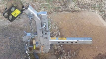 Winch Hitch by Sharmans Burra Goyder Area Preview