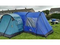 Vango Tigris 600 6 man tent with porch