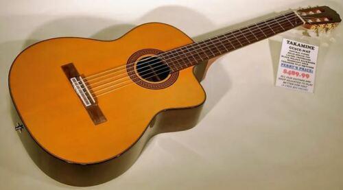 Takamine GC5CE-NAT Natural Acoustic-Electric Classical Guitar - Pro Setup