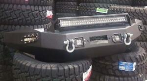 FRONT & REAR BUMPER COMBO WITH ALL LIGHTING! FORD-CHEVY-DODGE-TOYOTA-GMC
