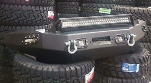 FRONT BUMPER WITH ALL LIGHTING! FORD-CHEVY-DODGE-TOYOTA-GMC
