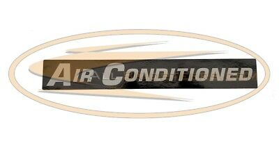 Bobcat Air Conditioning Decal Skid Steer Loader T180 T190 T200 T320 A220 A300 Ac