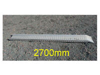 9 foot long aluminium motorcycle ramp - professional quality