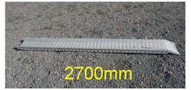 9 foot long aluminium motorcycle ramp - professional quality