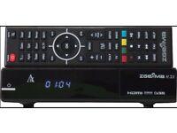 Zgemma H2S satelite box fully imaged just Plug & Play