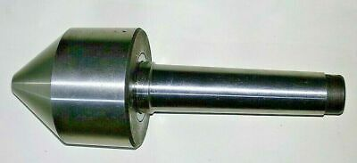 Mt3 Bull Nose Live Revolving Tube Center Morse Taper Capacity From 12mm To 62mm