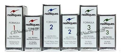 Nailtiques Nail Protein - Formula 1 - 2 - 3  - Pick Any Size 0.25oz - 0.5oz