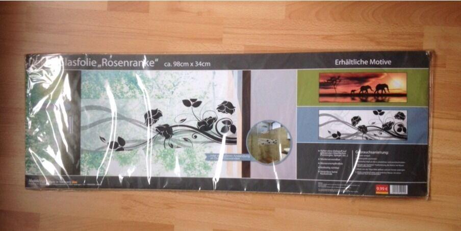 Klebefolie, Dekorklebefolie für Fenster oder Duschwand in Teltow