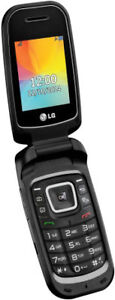 LG F4NR flip phone without SIM card USED