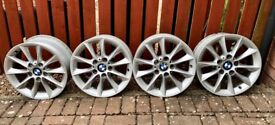 "4 x BMW 16"" ALLOY WHEELS"