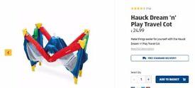 Hauck Dream 'n' Play Travel Cot