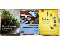 Business Management University books