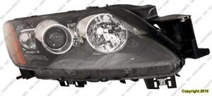 Head Light Passenger Side HID With Signal High Quality Mazda CX-7 2010-2012