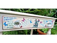 Alice in Wonderland hall table