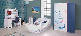 Childrens pirate ship bed unique brand new last one