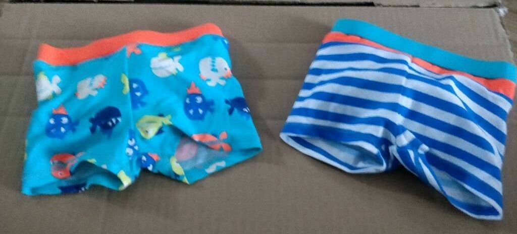 2fa77201223a0 Swim trunks underwater and stripe pattern. 6-9 months | in Wollaton ...